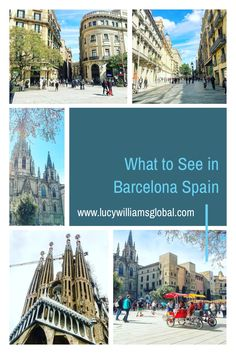 Barcelona is located on the northeast coast of Spain and can be on a Mediterranean cruise and here is what to see and do in Barcelona Spain #spain #barcelona #travelguide