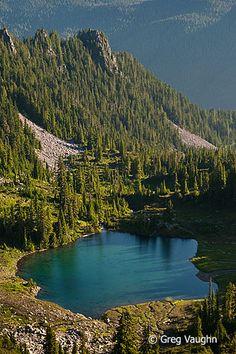 Round-Lake-Olympic-National-Park WA