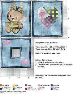 Honeybear Tissue Box Cover  (736×952)