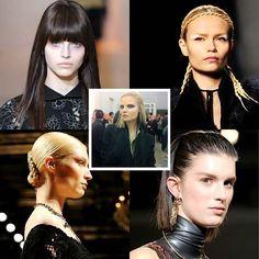Makeup trends Fall Winter 2012 Milan Fashion Week