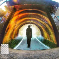 "29 Likes, 5 Comments - حيطان (@heytan.art) on Instagram: ""Heytan mural at @undergroundlounge entrance door #Egypt #Art #Murals #Decor #Painting…"""