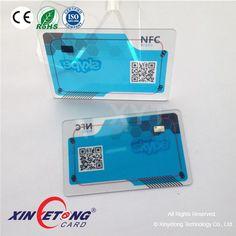 Ntag216 Transparent PVC Card