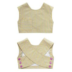 Crossover Back Cropped Top | 5 Years