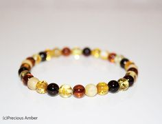 Natural baltic amber adult bracelet amber bracelet adult elastic amber bracelet by PreciousAmber on Etsy Amber Bracelet, Beaded Bracelets, Amber Beads, Baltic Amber, Gemstone Beads, Gemstones, This Or That Questions, Natural, Etsy
