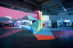 Soft Focus, an exhibition by Rafaël Rozendaal at MU, 2015. Photos by Boudewijn Bollmann