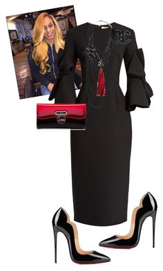 """""""Official Day!!!!!"""" by cogic-fashion on Polyvore featuring Roksanda, Christian Louboutin and Chanel"""