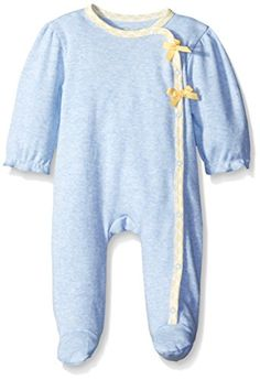 Rene Rofe Baby Baby Spring Floral Side Snap Footed Coverall 03 Months -- Read more reviews of the product by visiting the link on the image. (This is an affiliate link)