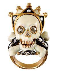 Skull Ring, Attilio Codognato, Venice, Italy, very Alexander McQueen.