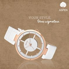 Because elegance can never go out of style!  #aspen #watch #fashion #women #style