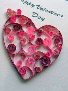 Quilling: Paper craft lends elegance to Valentine's cards