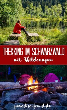 Trekking in the Black Forest: wild camping, recipes & packing list for a multi-day hike - paradise-found.de - Trekking in the Black Forest: wild camping, recipes & packing list for a multi-day hike - Camping And Hiking, Camping Survival, Camping Meals, Camping Hacks, Outdoor Camping, Backpacking, Camping Recipes, Camping Packing, Survival Life