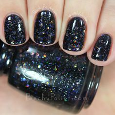 China Glaze Coal Hands, Warm Heart | Cheers! Collection | Peachy Polish