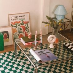 Decoration Inspiration, Room Inspiration, Interior Inspiration, Decor Ideas, My New Room, My Room, Dream Apartment, Cute Apartment Decor, Retro Apartment
