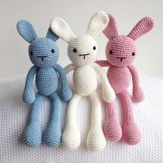Crochet Easter Bunny Plush, Bunny Stuffed Animal, Bunny Plushie #2014 #crochet #easter #bunny www.loveitsomuch.com