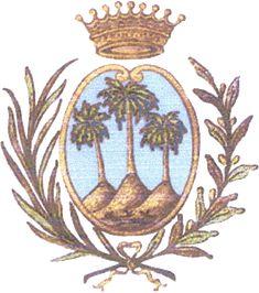 PalmadiMontechiaro-Stemma - Palma di Montechiaro - Wikipedia Show Map, Italy Map, Southern Italy, The Province, Santa Maria, Popular Culture, Coat Of Arms, Macabre, Palermo