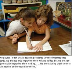 Informational Text: Writing Like Readers and Reading Like Writers | Literacy & NCTE: The official blog of the National Council of Teachers of English