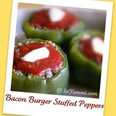 Ranch burgers, Stuffed peppers and Burgers on Pinterest