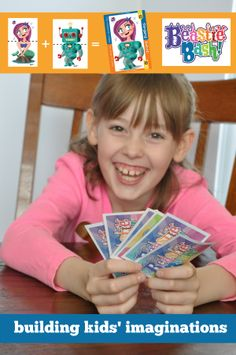 our first card game for kids, Beastie Bash!, is now on #kickstarter! #kids #imagination