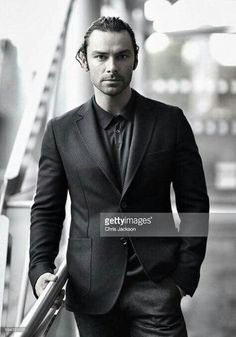 Aidan at the BFI in Aug 2016. Looking good in B&W.