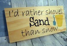 This beach sign is sure to put a smile on your face each time you look at it. This funny wood beach sign would make a unique addition to your beach home decor , or as a housewarming gift for the beach lover. This wooden sign was handcrafted from solid wood which was then cut and