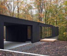 The Corbett Residence en Caroline du Nord par les architectes d'In Situ Studio - Journal du Design