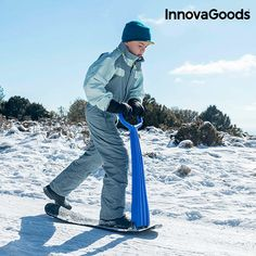 Surprise the young ones this winter with the new novelty InnovaGoods Gadget Cool snow scooter! Ideal to spend a day of fun in the snow!