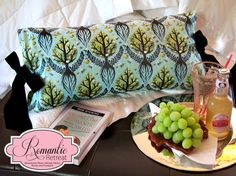 A Romantic Bedroom Retreat with Rowan & FreeSpirit Fabrics: Pillow Jacket | Sew4Home