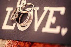 LOVE + wedding rings | photos by miles witt boyer