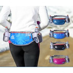 Zuoxiangru New Running Bag Hydration Belt Women Men Sport Running Waist Bag Waterproof Jogging Gym Waist Pack With Water Bottle With The Most Up-To-Date Equipment And Techniques Relojes Y Joyas