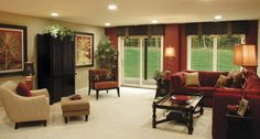 Beaugureau Studios   Traditional   Living Room   Chicago   Beaugureau  Studios Red Living Rooms,