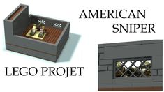 American Sniper project Lego by Brick Designer please subscribe!
