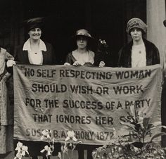 no self-respecting woman...#feminism