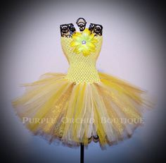 Hey, I found this really awesome Etsy listing at https://www.etsy.com/listing/101291093/yellow-gold-tutu-dress-child-size