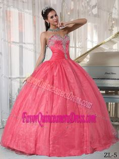 Beaded Sweetheart Taffeta and Organza Quinceanera Dress with Appliques