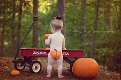 1 Year Old Photography, Pumpkin baby photography, Fall Baby Photography, Charlotte NC Photographer.
