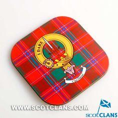 Dalziel Clan Crest Coaster