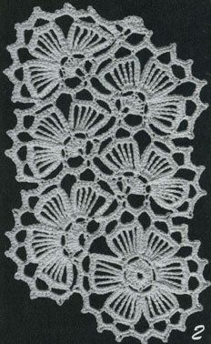 Crochet Lace Edging, Form Crochet, Crochet Blocks, Crochet Borders, Crochet Diagram, Crochet Squares, Irish Crochet, Crochet Doilies, Crochet Designs
