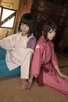 Sen to Chihiro to Kamikakushi - Chihiro & Haku