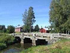 Harrström stone bridge. Korsnäs, Ostrobothnia province of Western Finland.- Pohjanmaa - Österbotten  photo:Jari Laurila:2015