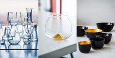 En del av Ingegerd Råman design som kommer att visas med bl a Cognacskupan för Grönstedts 150 års Jubileum som ni även finner i vår webbshop.