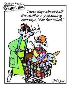 maxine quotes cqrtoon maxine shopping cart carts funny graphics pictures images - Halloween Jokes For Seniors