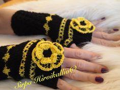 Musta/keltaiset kukkakämmekkäät