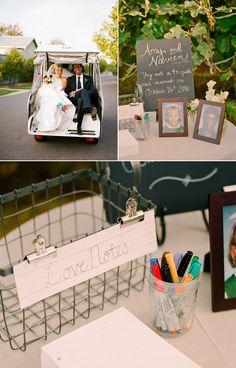 School-themed wedding. Love these ideas!