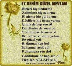 Amiinn Allah, Prayer