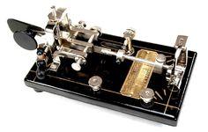 Telegraph key restoration by W. R. Smith, W4PAL.