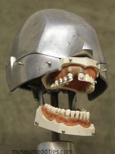 dental Phantom Columbia dentoform aluminal head form for sale at Museumoddities.com