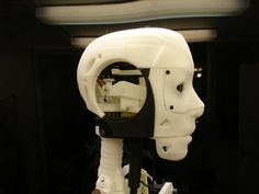 Gael Langevin, a French sculptor and model-maker, is developing a design for an open-source humanoid robot that you can make with your own printer. 3d Printed Robot, Robot Videos, Boston Dynamics, Robot Hand, Maker Faire, Humanoid Robot, French Sculptor, 3d Projects, Project Ideas