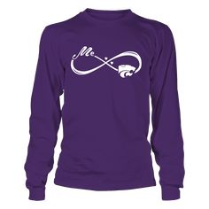 Kansas State Wildcats - Me And My Team - Infinity Love T-Shirt, Special Offer, not available in shops! Comes in a variety of styles and colors Buy yours now before it is too late! Secured payment via Visa / Mastercard / Amex  The Kansas State Wildcats Collection, OFFICIAL MERCHANDISE  Available Products:          Gildan Long-Sleeve T-Shirt - $33.95 Gildan Unisex Pullover Hoodie - $49.95 Gildan Fleece Crew - $39.95 District Women's Premium T-Shirt - $29.95 District Men's Premium T-Shirt…