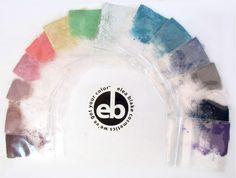 The Elea Blake Cosmetics Light Summer Eye Shadow Rainbow
