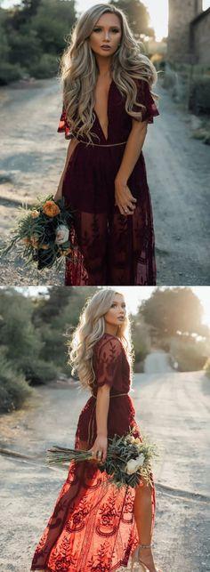 bridesmaid dresses,2017 bridesmaid dress,burgundy bridesmaid dress,long bridesmaid dress